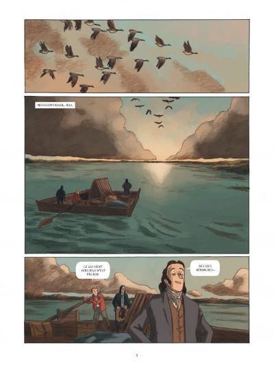 Page 5 Sur les ailes du monde, Audubon