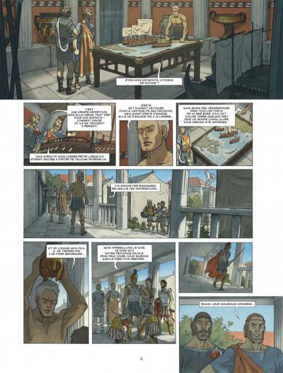 Page 6 Alcyon tome 3 - Le crépuscule des Dieux