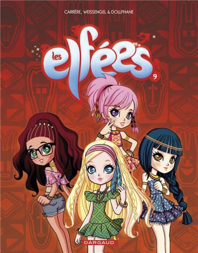 Couverture Les elfées tome 9