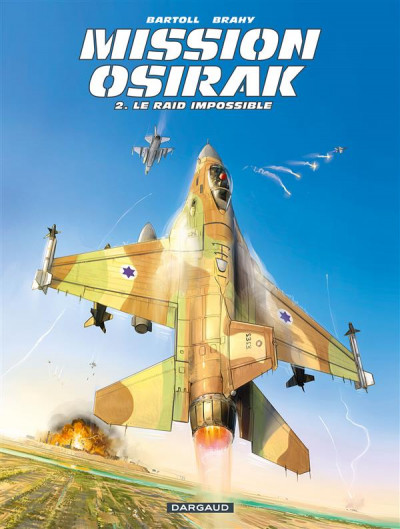 Couverture Mission Osirak tome 2
