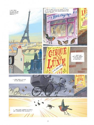 Page 3 Violette autour du monde tome 1 - Ma tête dans les nuages