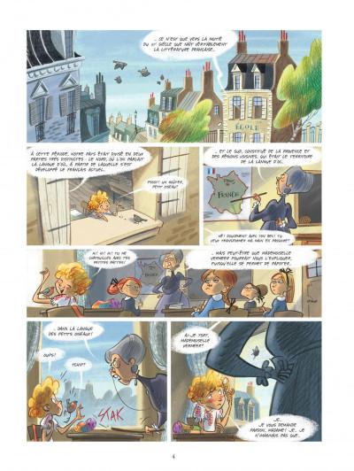 Page 4 Violette autour du monde tome 1 - Ma tête dans les nuages