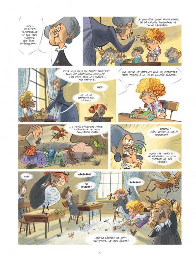 Page 5 Violette autour du monde tome 1 - Ma tête dans les nuages