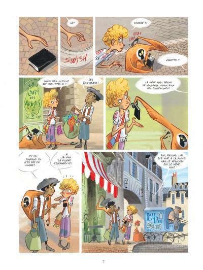 Page 7 Violette autour du monde tome 1 - Ma tête dans les nuages