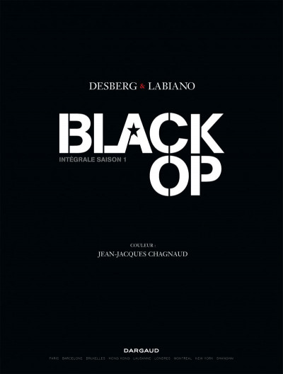 Page 1 Black Op Intégrale saison 1