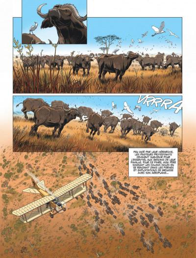 Page 7 L'aviateur tome 1