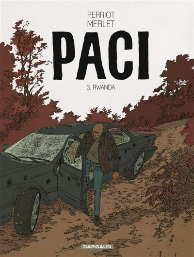 Couverture Paci tome 3 - Rwanda