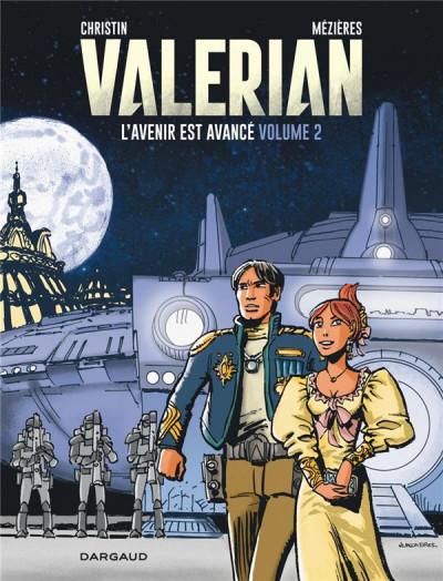 Couverture Autour de Valérian - l'avenir est avancé tome 2