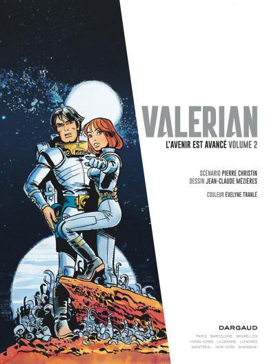 Page 2 Autour de Valérian - l'avenir est avancé tome 2