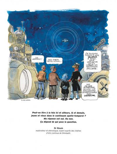 Page 4 Autour de Valérian - l'avenir est avancé tome 2