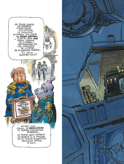 Page 5 Autour de Valérian - l'avenir est avancé tome 2