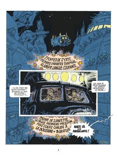 Page 8 Autour de Valérian - l'avenir est avancé tome 2