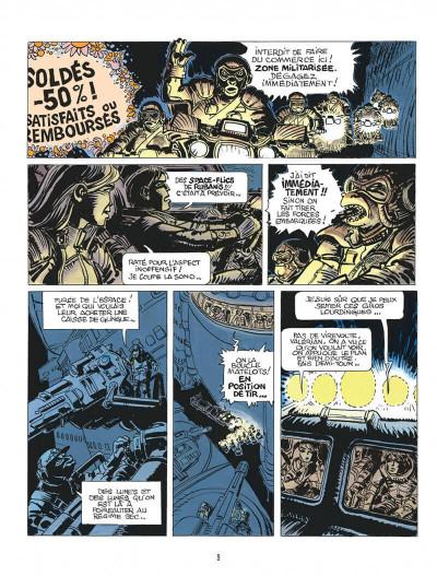 Page 9 Autour de Valérian - l'avenir est avancé tome 2