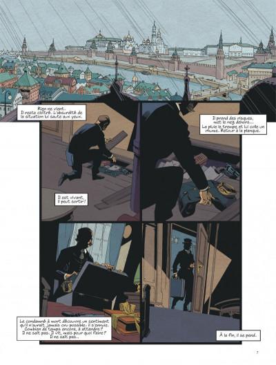 Page 7 Mort au tsar tome 2