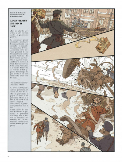 Page 8 Mort au tsar tome 2