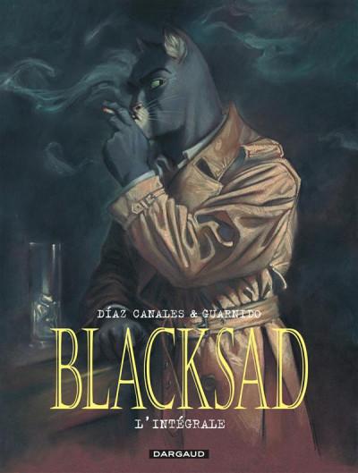 Couverture Blacksad l'intégrale