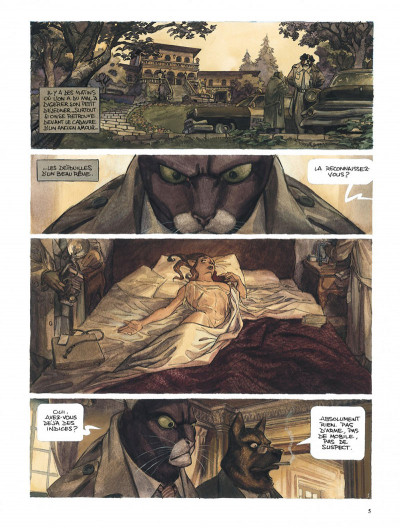 Page 5 Blacksad l'intégrale