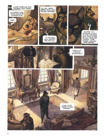Page 6 Blacksad l'intégrale