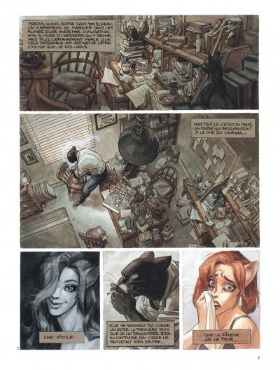 Page 7 Blacksad l'intégrale