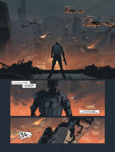 Page 3 Mémoires de la guerre civile tome 1