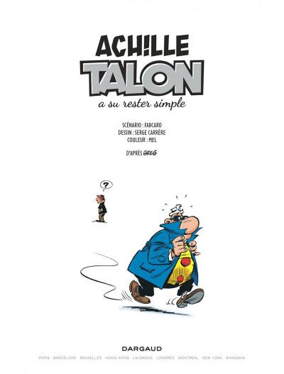Page 3 Les impétueuses tribulations d'Achille Talon tome 2