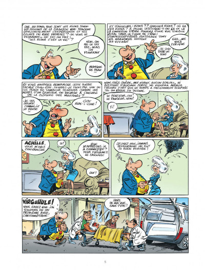 Page 5 Les impétueuses tribulations d'Achille Talon tome 2