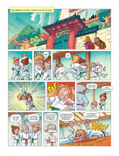 Page 5 Les aventures de Teddy Riner tome 1