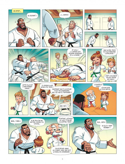 Page 6 Les aventures de Teddy Riner tome 1