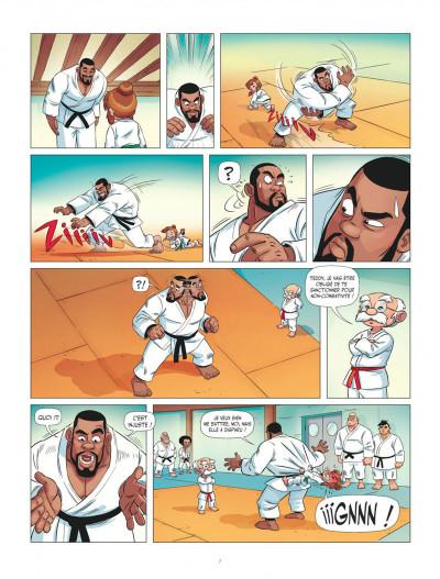 Page 7 Les aventures de Teddy Riner tome 1