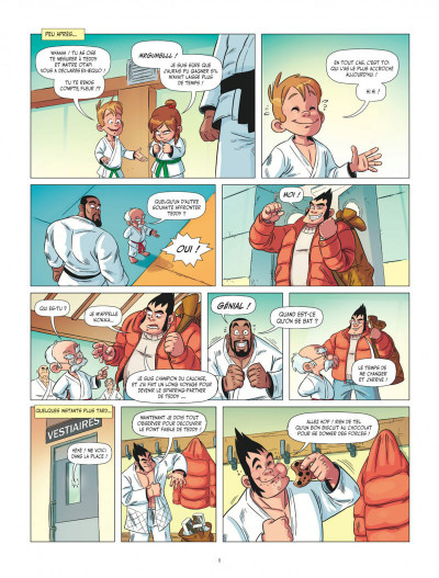 Page 8 Les aventures de Teddy Riner tome 1
