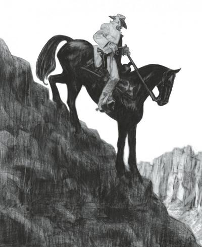 Couverture Gus tome 4 - Happy Clem - édition noir & blanc