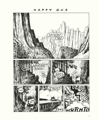 Page 3 Gus tome 4 - Happy Clem - édition noir & blanc