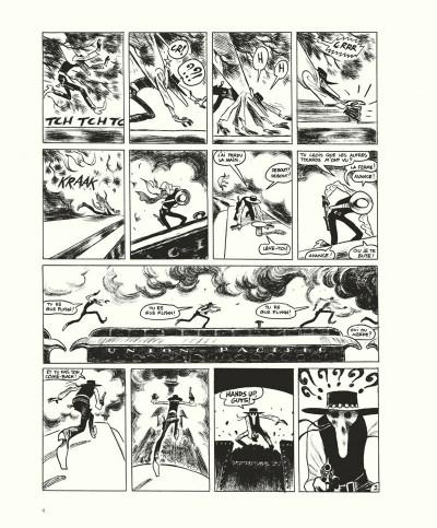 Page 4 Gus tome 4 - Happy Clem - édition noir & blanc