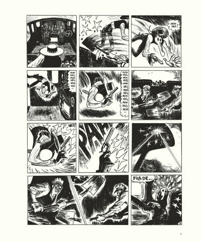 Page 5 Gus tome 4 - Happy Clem - édition noir & blanc