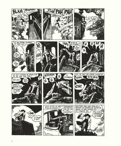 Page 6 Gus tome 4 - Happy Clem - édition noir & blanc