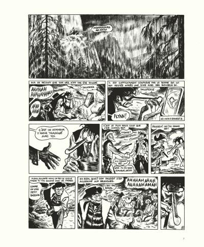 Page 7 Gus tome 4 - Happy Clem - édition noir & blanc