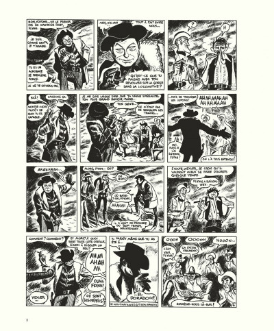 Page 8 Gus tome 4 - Happy Clem - édition noir & blanc