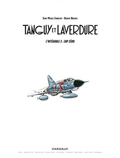 Page 1 Les aventures de Tanguy et Laverdure intégrale tome 3
