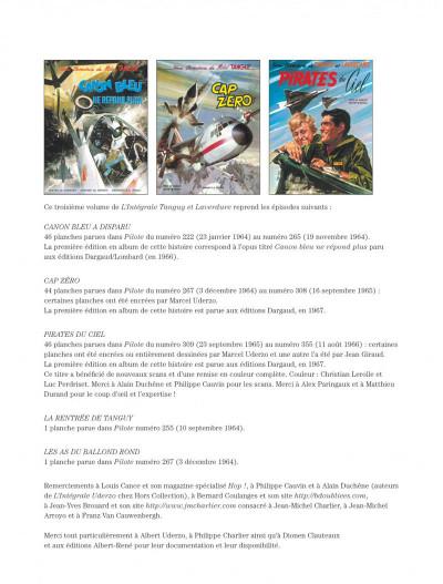Page 2 Les aventures de Tanguy et Laverdure intégrale tome 3