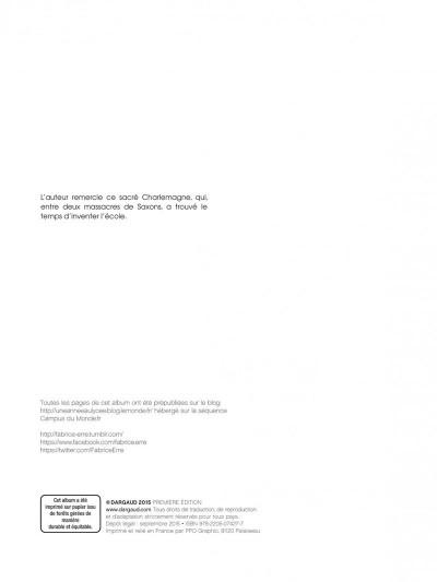 Page 2 Une année au lycée tome 2