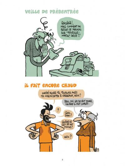 Page 8 Une année au lycée tome 2
