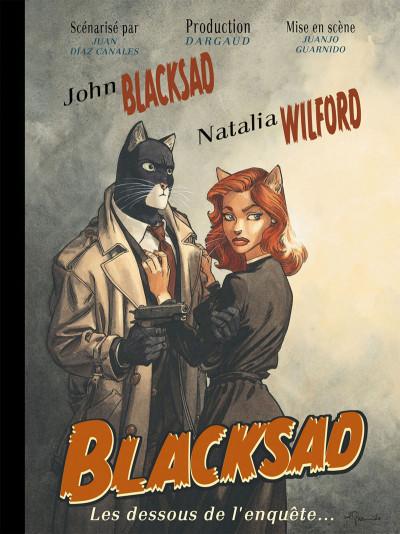 Couverture Blacksad - Les dessous de l'enquête...