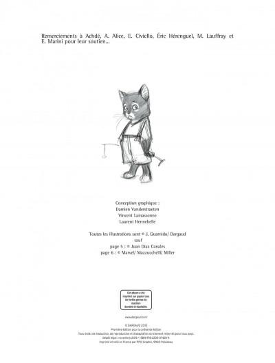 Page 2 Blacksad - Les dessous de l'enquête...