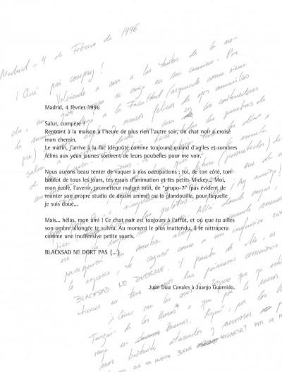 Page 3 Blacksad - Les dessous de l'enquête...
