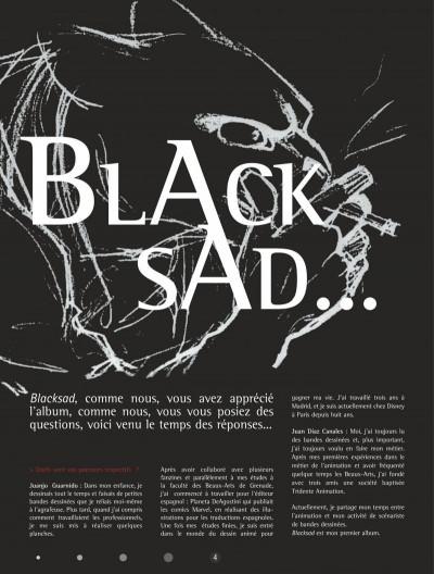 Page 4 Blacksad - Les dessous de l'enquête...