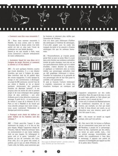 Page 5 Blacksad - Les dessous de l'enquête...