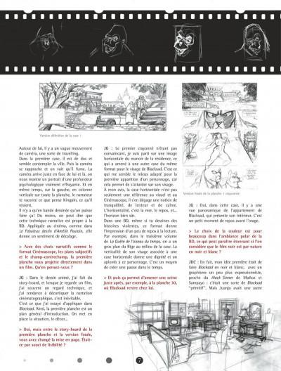 Page 7 Blacksad - Les dessous de l'enquête...