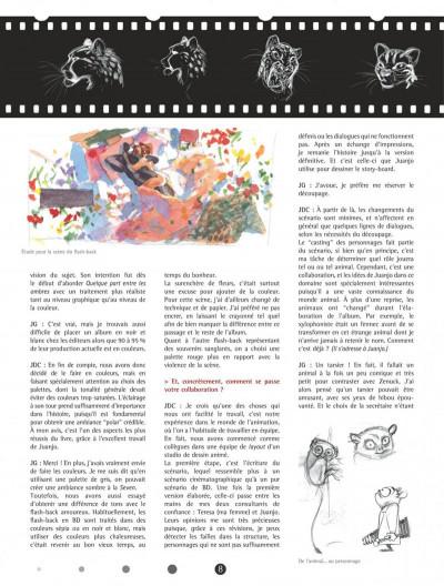 Page 8 Blacksad - Les dessous de l'enquête...