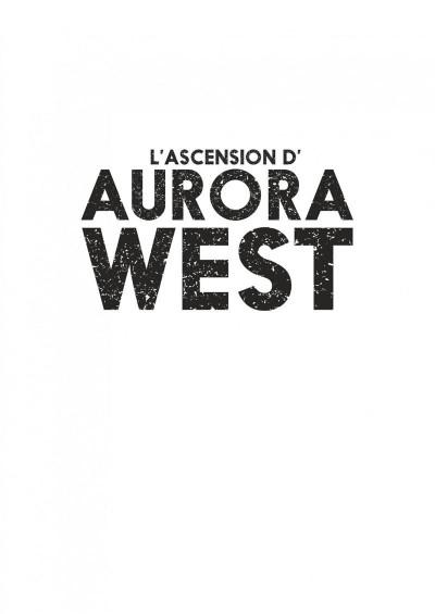 Page 1 Aurora West tome 1