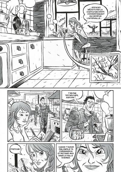 Page 5 Aurora West tome 1